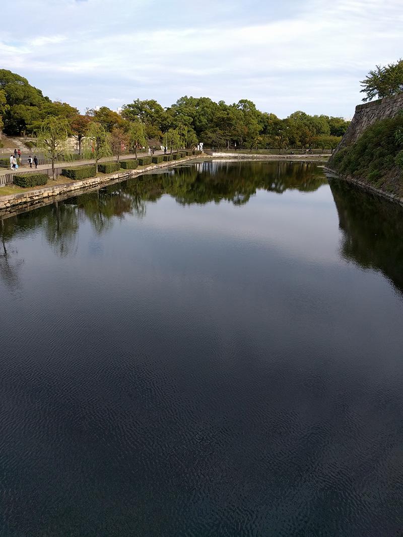 大阪城公園一隅