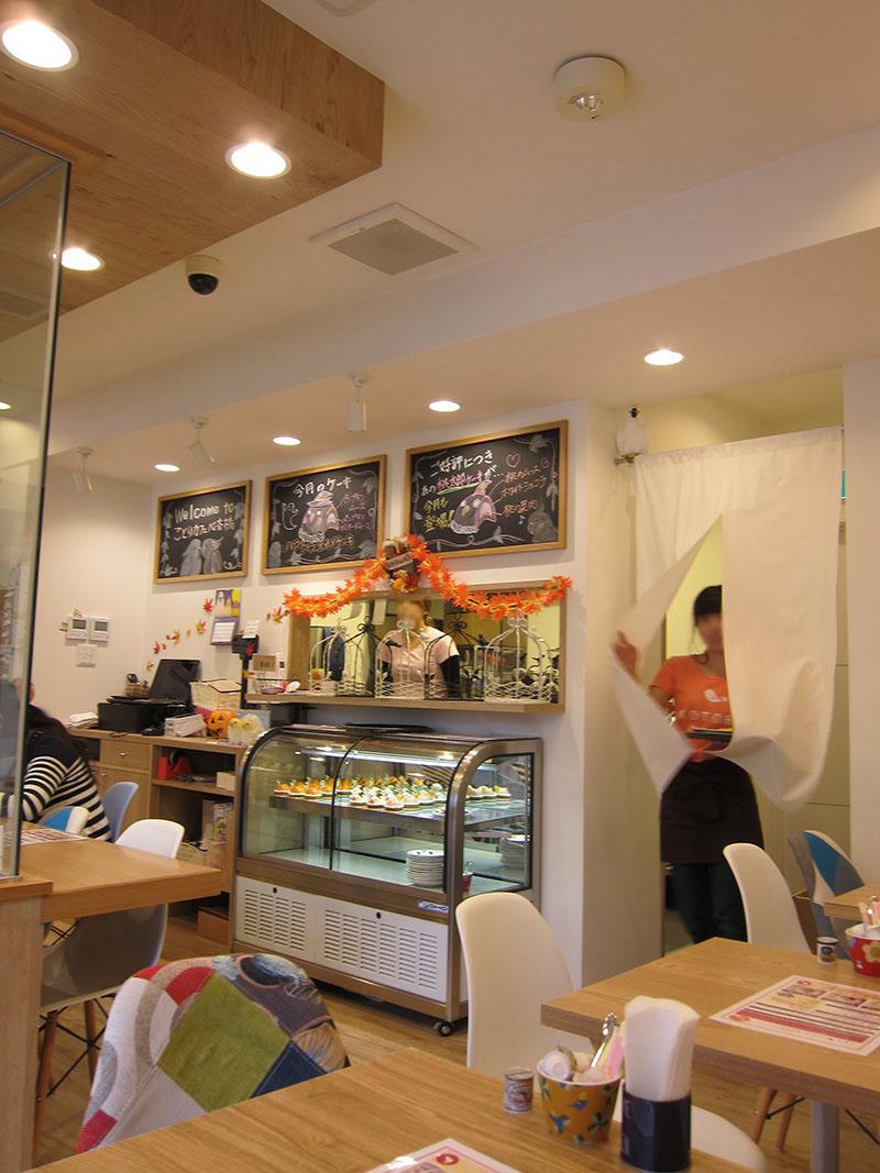 KOTORI CAFE-櫃台一隅